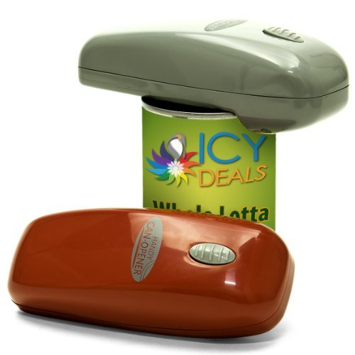 Handy Can Opener Automatic One Touch Electric Can Opener - 2 Pack