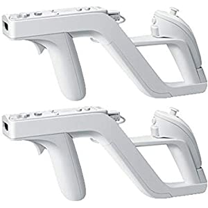 Expresstech @ 2 Sport Zapper Pistole Gun TIR Zapper für Nintendo WII WIIMOTE Nunchuck