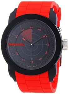 Diesel Herren-Armbanduhr XL Franchise 44 Analog Quarz Silikon DZ1607