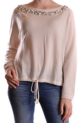 Twin-Set Damen Mcbi302072o Beige Wolle Pullover (Twin-set Pullover Strickjacke)