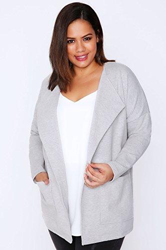 Yours Clothing - Blouson - Femme Large Gris