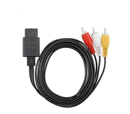 Iuhan für Nintendo 64N64/NGC Spiel Audio Video A/V Kabel Schnur Draht