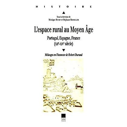 L'espace rural au Moyen Âge: Portugal, Espagne, France (XIIe-XIVe siècle). Mélanges en l'honneur de Robert Durand (Histoire)
