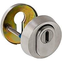 ck-tuerbeschlaege ZA - Cerradura de seguridad, diseño redondo, fabricada en acero inoxidable opaco