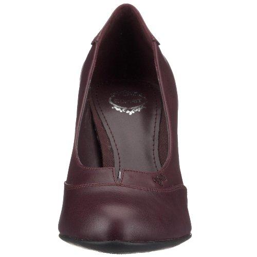 esprit Alda Pump Z 10400, Damen Pumps, schwarz Violett (Darkbordeaux604)