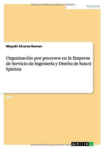 Organización por procesos en la Empresa de Servicio de Ingeniería y Diseño de Sancti Spiritus