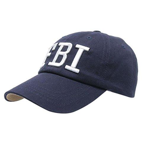UFACE Kappe Baseballmütze Frauen Männer Denim Baseball Cap Snapback Hip Hop Flachen Hut (Marine)