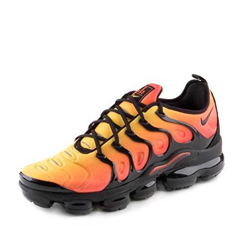 Nike Herren Air Vapormax Plus Fitnessschuhe, Mehrfarbig Black-total Or 006, 45 EU (Nike Total Orange)