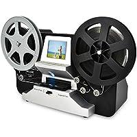 Escáner de película para 8 mm y Super 8 película, digitalizador de película Digitalización Super 8 Digital Film Converter HD 1080P 2.4''LCD