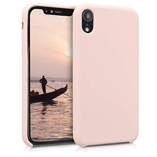 kwmobile Apple iPhone XR Hülle - Handyhülle für Apple iPhone XR - Handy Case in Altrosa