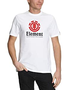 Element Herren T-Shirt Vertical Short Sleeve PP, white, XL, 01TSC6