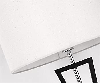 Atmko®black Reading Floor Lamp Fabric Lampshade Wrought-iron Lamp Base Living Room Bedroom Bedside Modern Lighting Decor 5