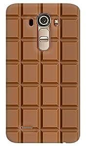 Kasemantra Chocolate Bite Case For Lg G4