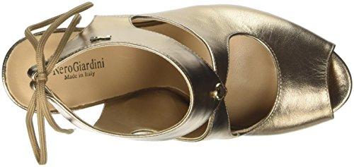 Nero Giardini P717371de, chaussures à bouts ouverts femme Oro (434)