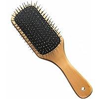 GUO El masaje de madera festoneado el cojín del airbag del cuero cabelludo peine de alambre de cuidado de la salud dedicada peluquería peine