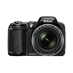 Nikon Coolpix L340 20. 2MP Digital Camera with 28x Optical Zoom