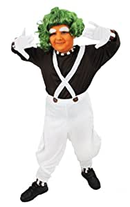 CHILDS CHOCOLATE FACTORY WORKER COSTUME GIRLS BOYS SCHOOL BOOK WEEK CHARACTER FANCY DRESS ILOVEFANCYDRESS® (EXTRA LARGE)