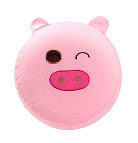 Karikatur-Plüsch-aufblasbares Hocker Tragbare Falten, Schwein