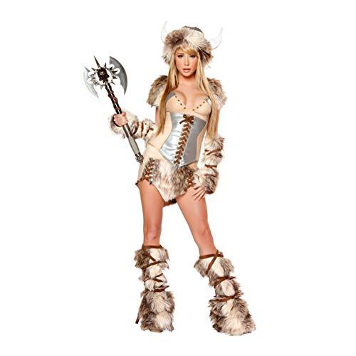 (YaXuan Königin Cosplay Kostüm Party Kostüm Masquerade Film Cosplay Weibliche Kuh Dämon Show Kostüm Weihnachten Halloween Karneval Neujahr (Farbe : 1, Größe : M))