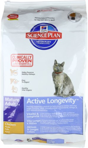 Hills Science Plan 6292 Hills Feline Mature Adult Senior Huhn 10kg