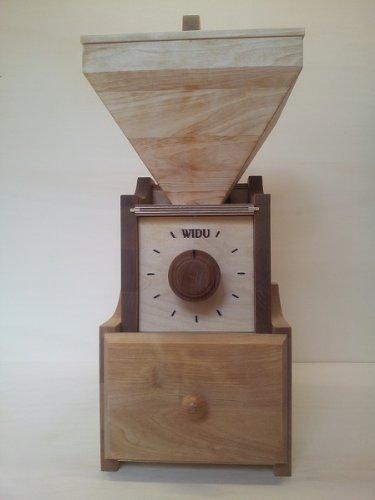 Getreidemühle WIDU Universalmühle Mod. III aus Holz - 3