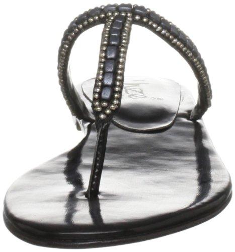 Unze L18302W, Chaussures basses femme Noir (L18302W)