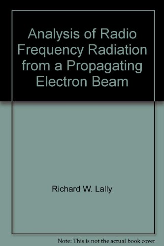 Analysis of Radio Frequency Radiation from a Propagating Electron Beam