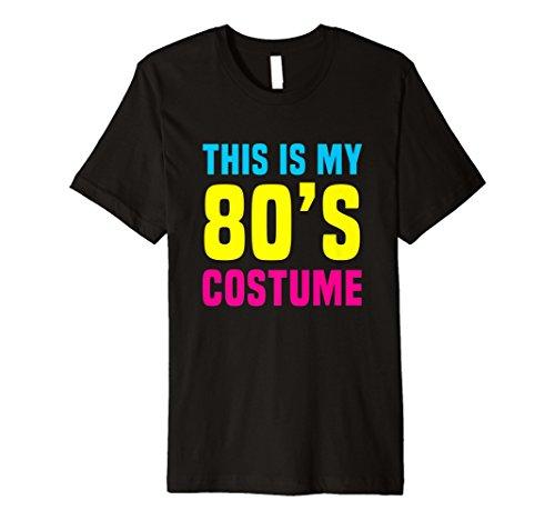 Funny 80er Kostüm Halloween T Shirt