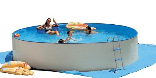 Kit piscine hors-sol acier PROMO ronde 4.50m x 0.90m TOI 8864