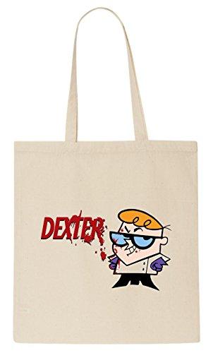 Dexters Labratory Bloody T-Shirt Tote Bag (Tote Bag Dexter)