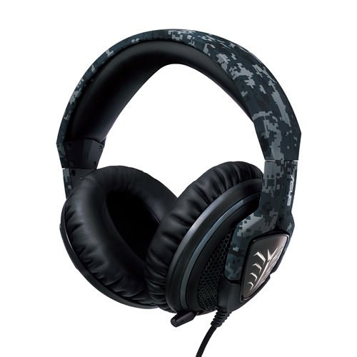 ASUS Echelon Gaming Headset (50 mm Neodym-Magnet-Treiber, versenkbares Mikrofon) Camo Edition -