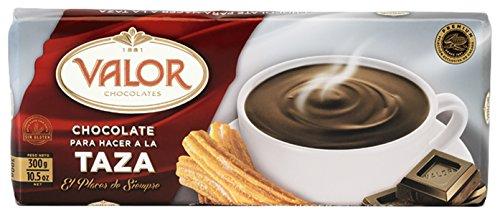 Valor - Chocolate a la Taza - Trinkschokolade, Tafel - 300 gr Spanische Schokolade
