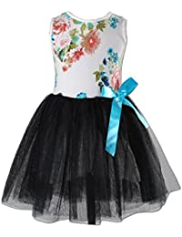 Cinda Girls Flower Party Dress