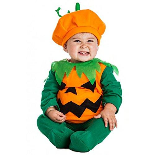 Imagen de disfraz calabaza bebe talla 1 2
