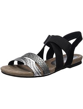 Marco Tozzi Damen 28113 Offene Sandalen mit Keilabsatz