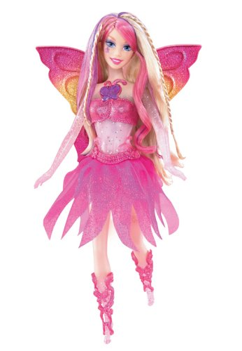 Mattel - Barbie G6261 - Fairytopia Zauberlichtfee Crystal