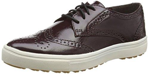 Tamaris 23608, Low-Top Sneaker donna, Rosso (Rot (Bordeaux Pat. 580)), 41