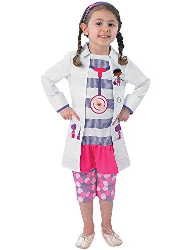 Doc McStuffins Disney-Kind Kostüm [Größe-S] (Mcstuffins Kostüm)