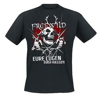 Frei.Wild - Eure Lügen, Euer Hassen T-Shirt, schwarz, Grösse S