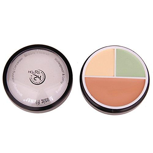 PhantomSky 3 Couleurs Palette de Maquillage Correcteur Camouflage Crème Cosmétique Set #3 - Parfait pour une utilisation professionnelle et quotidienne