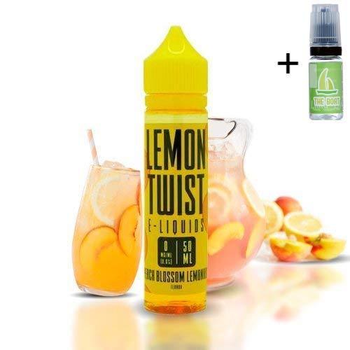 E liquid Lemon Twist Peach Lemonade 50ml - 70vg 30pg