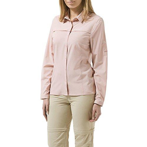Craghoppers Damen NosiLife Pro Langarm Bluse Funktionshmed Outdoorhemd