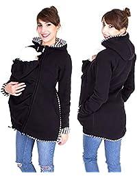Baby Carrier Hoodies Mäntel, 2 In 1 Frauen Mutterschaft Sweat-Shirts Fleece Känguru-Tasche Mantel Jacke Für Schwangere Tragen Halter Pullover Polar Fleece Pullover
