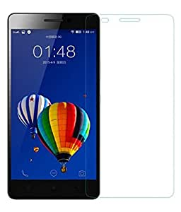 SNOOGG Pack 2 XOLO ERAFull Body Tempered Glass Screen Protector [ Full Body Edge to Edge ] [ Anti Scratch ] [ 2.5D Round Edge] [HD View] – White