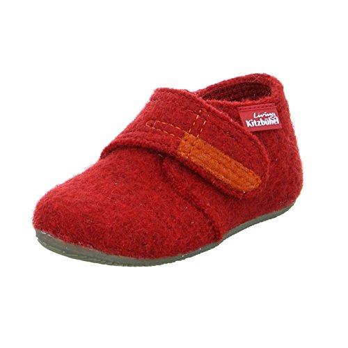 Living Kitzbühel Unisex Baby Babyklettschuh Krabbel- & Hausschuhe rot 350), 20 EU