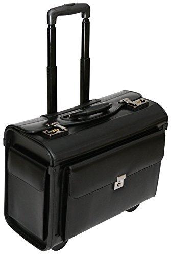 """Pilotenkoffer mit Rollen - Business-Trolley für Laptops 16"""" - Handgepäckgröße"""