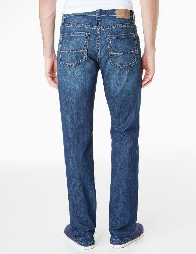 Pioneer Herren Jeans Normaler Bund 1684 9785 Rando Blau (dark used 145)