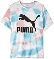 PUMA Women's Cloud Pack AOP Tee Bridal
