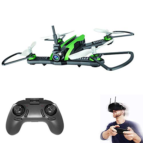 5.8G Racing FPV Drone120 ° FOV 30W HD-Kamera Live-Video 55 km/h Hochgeschwindigkeits-Windwiderstand RC Quadcopter RTF mit VR-Brille und Echtzeit-Sender 55 Video-kamera