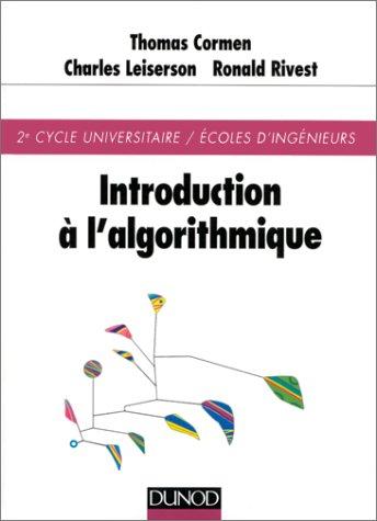 Introduction à l'algorithmique par Thomas Cormen